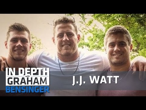 J.J. Watt: Competing with my brothers