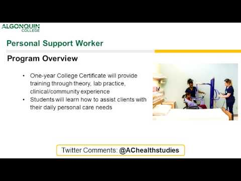 Personal Support Webinar