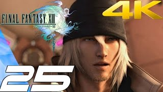 Final Fantasy XIII - Walkthrough Part 25 - Archylte Steppe [4K 60FPS]