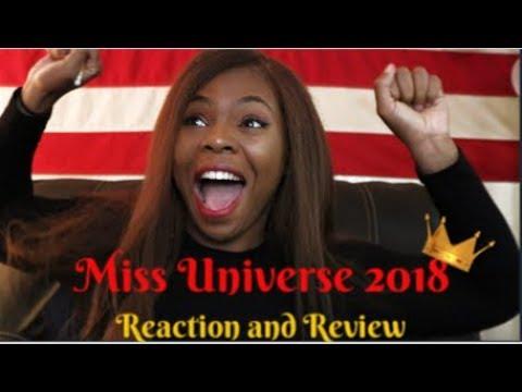 Miss universe 2018 live reaction and Recap