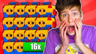 16x MEGA BOX öffnen! Legendary Brawler? • Brawl Stars deutsch