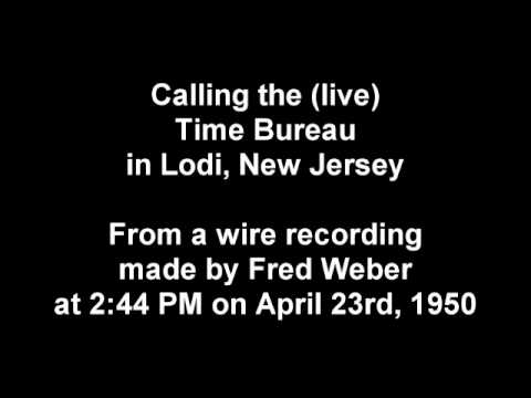 Calling the (live) Time Lady in 1950