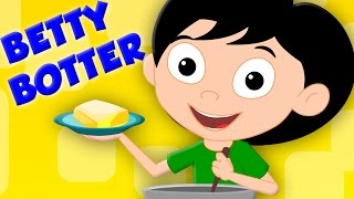 Betty Botter Bought Some Butter Kids TV Nursery Rhymes For Kids Baby Songs Kids Tv
