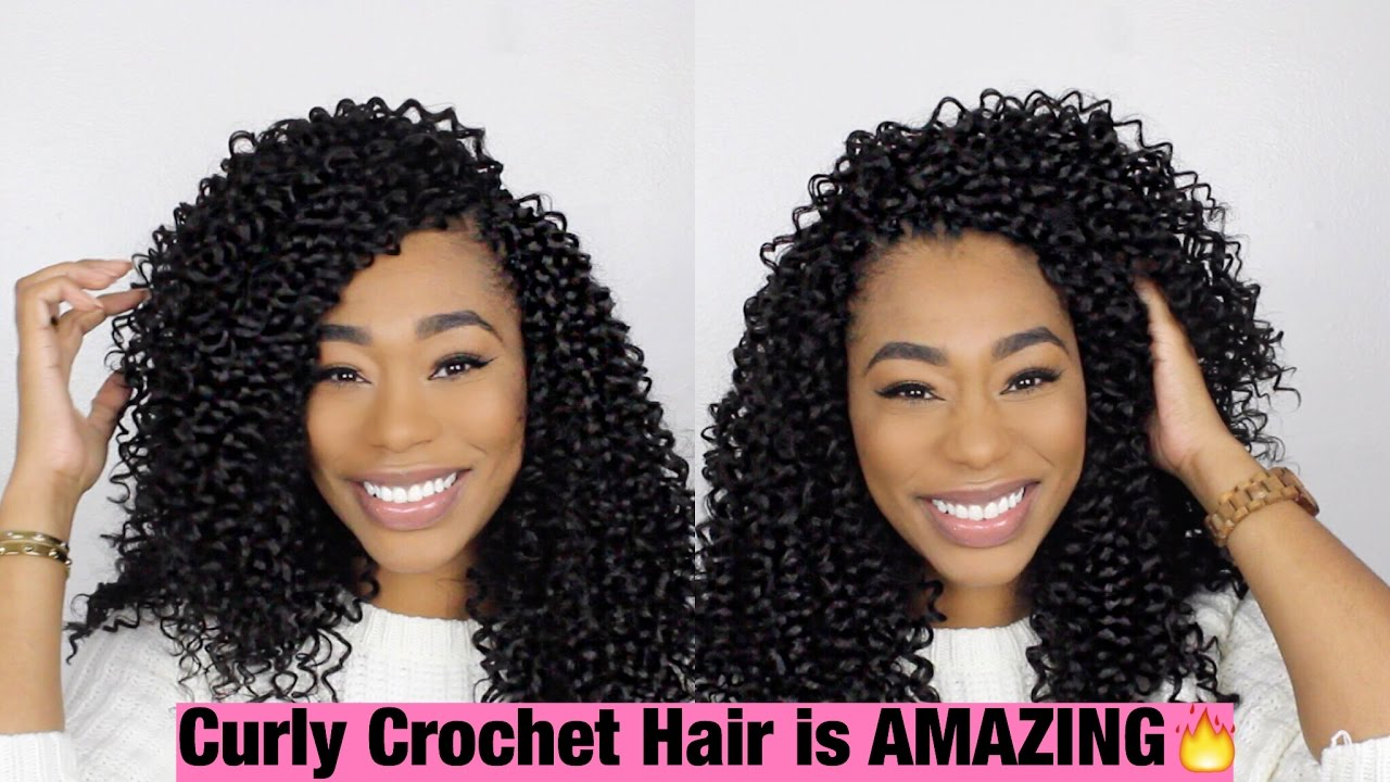 Crochet Braids: X- Pressions Party Curl ChimereNicole - YouTube
