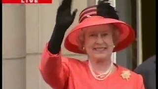 The Queen's 50th Golden Jubilee Fly Past