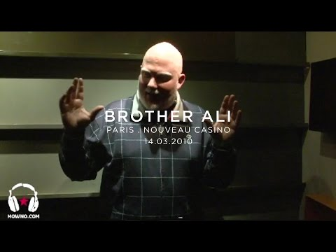 BROTHER ALI - Live in Paris