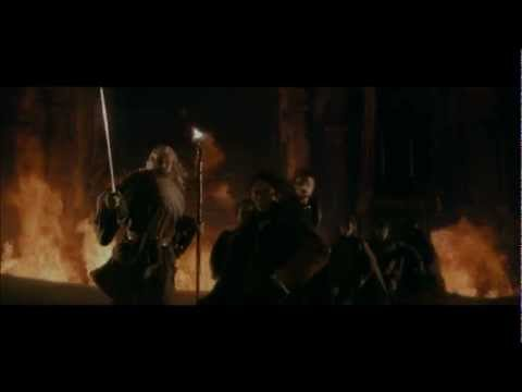 LOTR The Fellowship of the Ring - The Fall of Gandalf