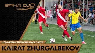 Игрок мирового уровня! Кайрат Жыргалбеков полузащитник сборной Кыргызстана!