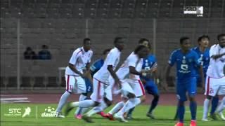 هدف الوحدة الأول ضد الهلال في الجولة 14 من دوري عبداللطيف جميل