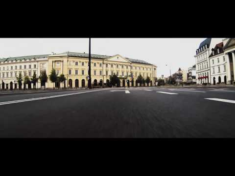 Dawn patrol. Arrinera Hussarya GT in the streets of Warsaw