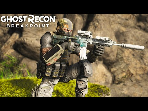 Ghost Recon Breakpoint 416 BLACK ICE! Ghost Recon Breakpoint Free Roam - Part 50