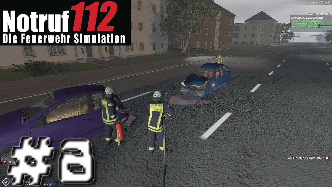 Let\'s Play NOTRUF 112 #8 - LKW auf Autobahn brennt und kleiner ...