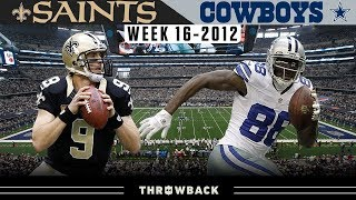 Wild West Finish in Dallas! (Saints vs. Cowboys 2012, Week 16)