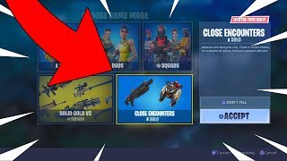 FORTNITE CLOSE ENCOUNTERS NEW GAMEMODE! JETPACKS AND SHOTGUNS ONLY! COMING SOON!