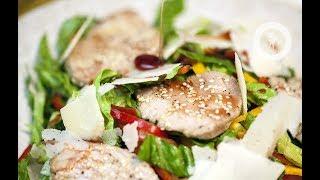 Летний салат с филе тунца