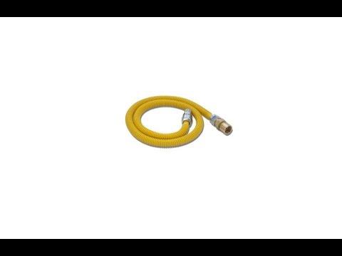 Water Heater Installment Flexible Gas Pipe