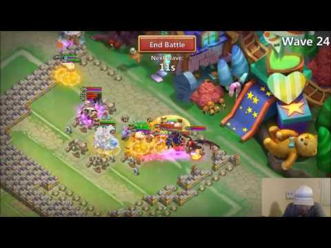 TOP SCORE Ember Army With CANNON TOWERS Castle Clash LOL