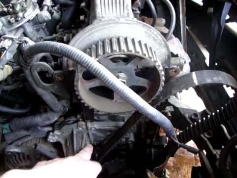 Timing belt tensioner spring