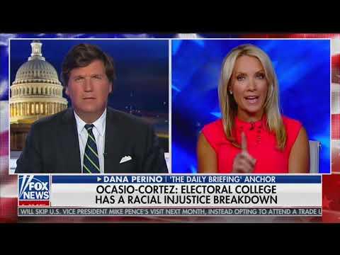 'No, It Is Not Racist' — Dana Perino Defends Electoral College After Ocasio-Cortez Attack