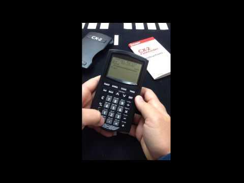 CX-2 - Calculating Fuel Burn
