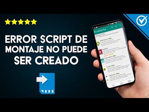 Solución: 'Error Script de Montaje no Puede ser Creado Link2SD'