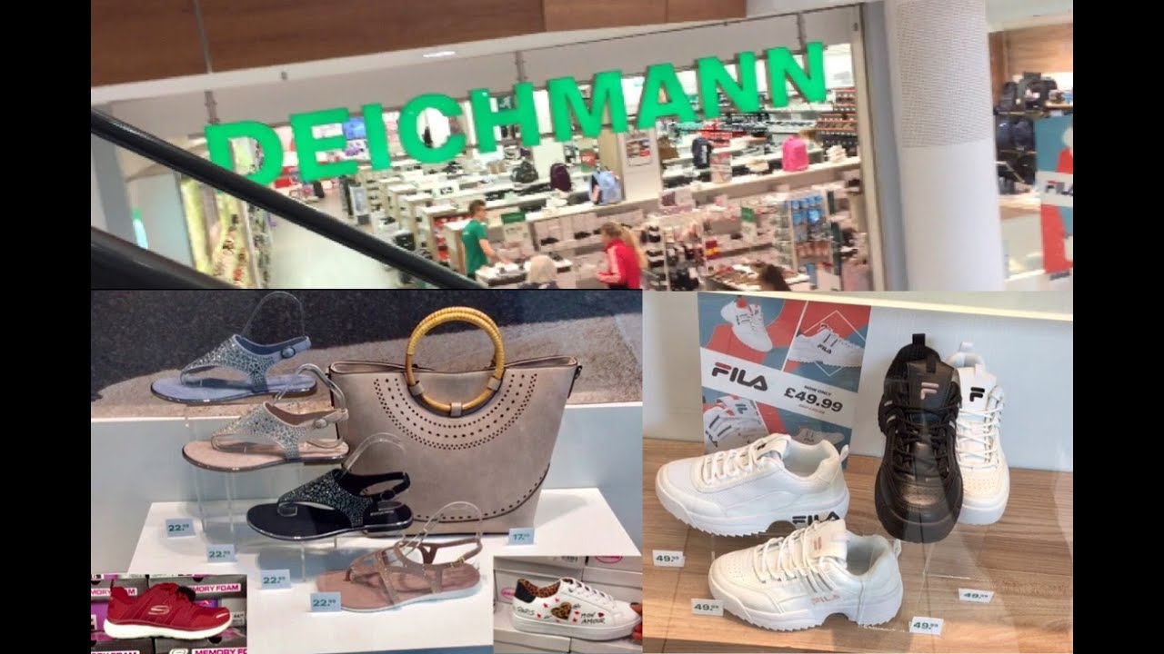detailed look entire collection good texture Deichmann Ladies Women's Shoes Sandals Trainers New Arrivals