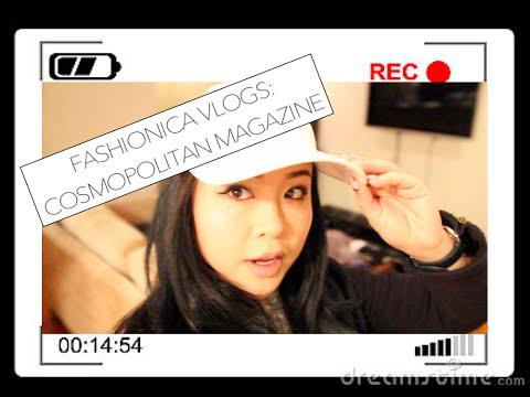 FashioNica Vlogs || INTERN FOR COSMOPOLITAN MAGAZINE