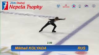 Михаил Коляда / Mikhail KOLYADA - Ondrej Nepela Trophy 2018  SP - September 20, 2018