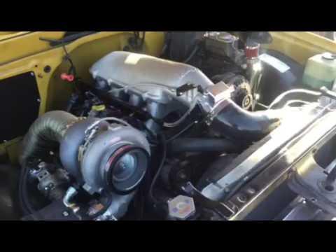 1972 c10 ls swap turbo - YouTube