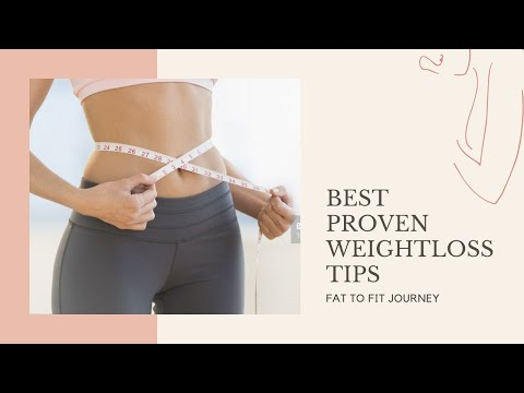 BEST WEIGHTLOSS TIPS | Easy and Proven Weightloss Ways to Lose Weight Fast