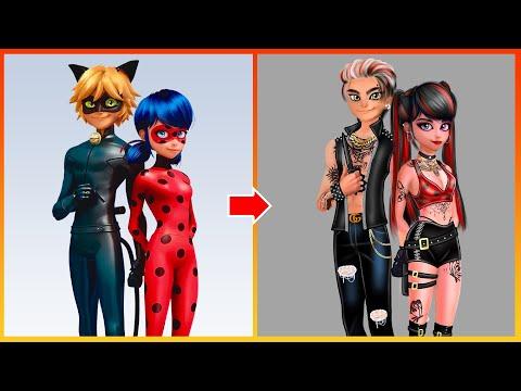 Miraculous: Ladybug And Cat Noir Glow Up - Miraculous Transformation
