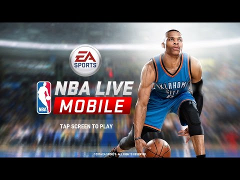 NBA Live: First Video on my Channel! - NBA Live Mobile - PC Version