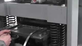 high radiator copper aluminum fin pressing machine