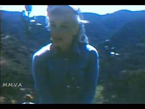 Marilyn Monroe being filmed by Joe Dimaggio  - Frank Sinatra, Ella Fitzgerald and  Sammy Davis Jr.