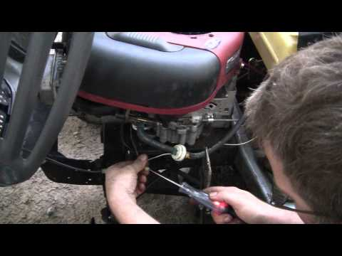 The Murray lawn tractor repair - YouTube