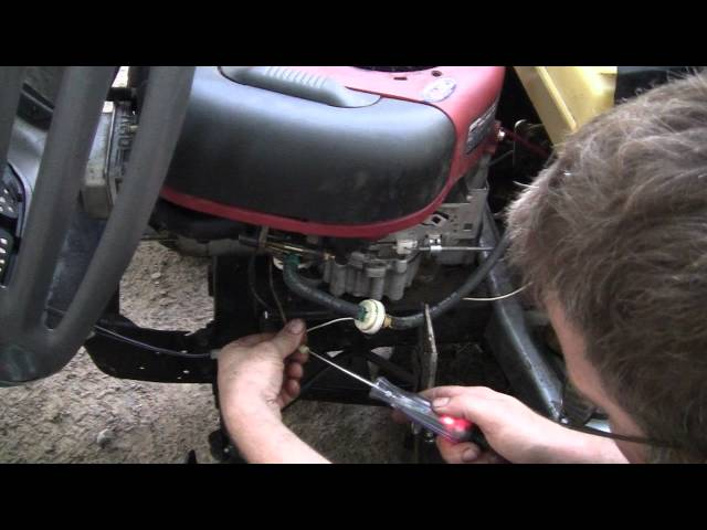 the murray lawn tractor repair youtube Murray Rider Wiring-Diagram