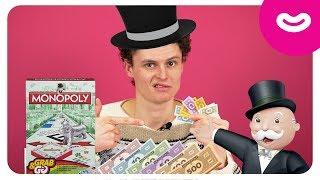 Игра Монополия. Обзор настольной игры. Видео для детей
