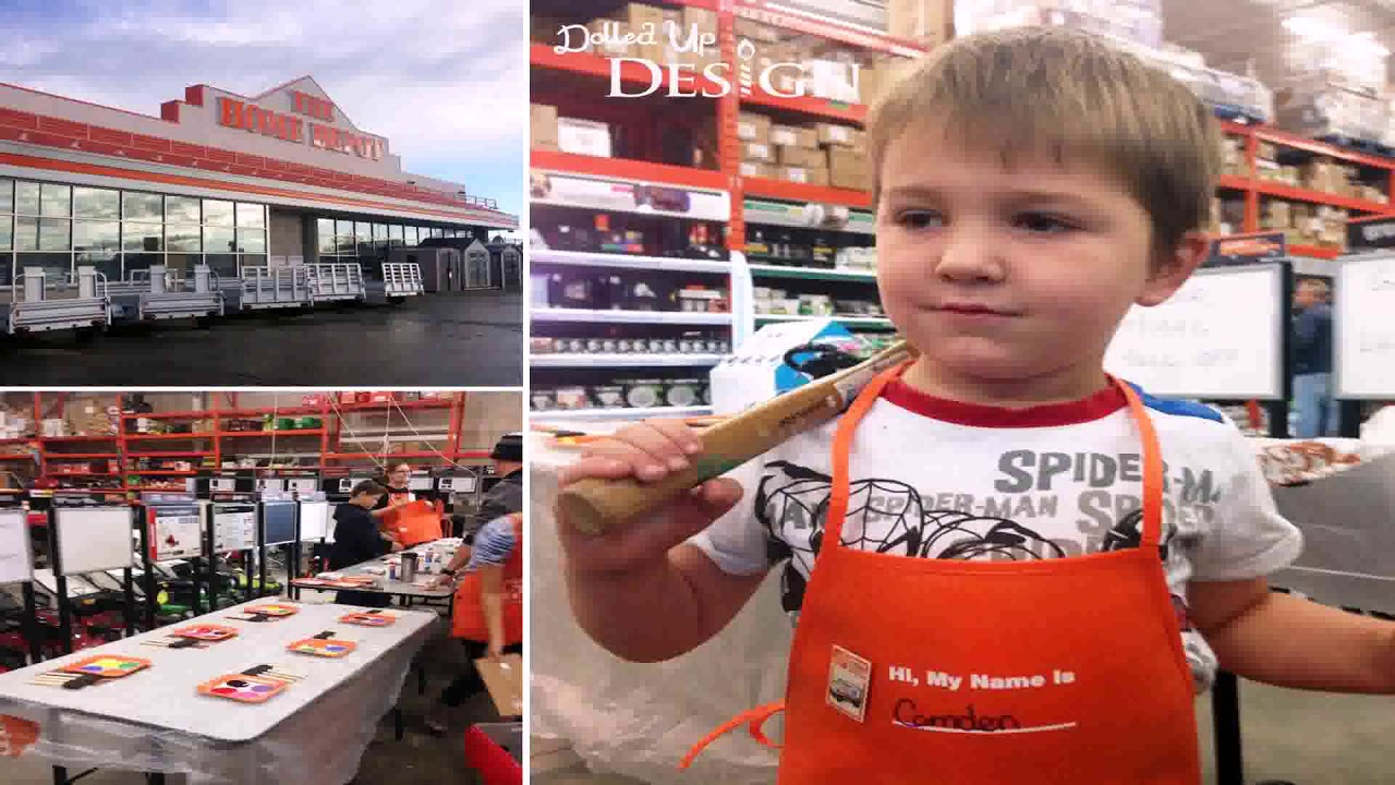 Birthday Parties At Home Depot