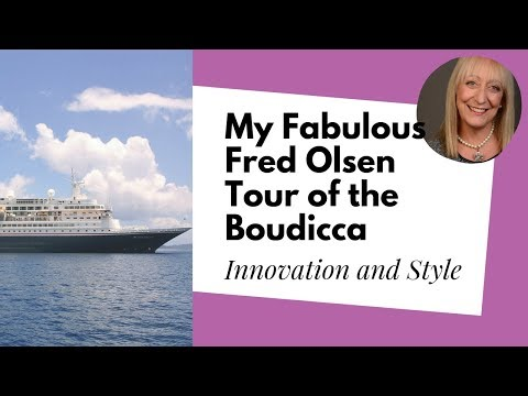 My Fabulous Fred. Olsen Cruise: Boudicca Walk-through