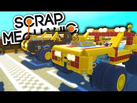 ПОСТРОЙ СУПЕР БЫСТРУЮ МАШИНУ ЗА 15 МИНУТ (Scrap Mechanic)