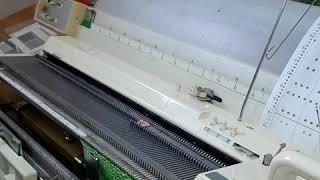 Готовим машину Бразер к вязанию ажурной кареткой (урок 1)