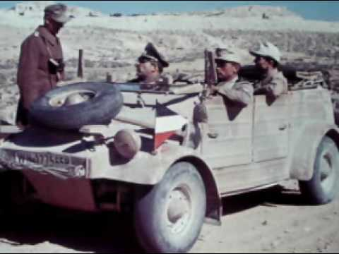 AFRIKA KORPS in color WW2