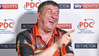 Mensur Suljovic reaches the semi finals and owes his son a new pair of trainers !