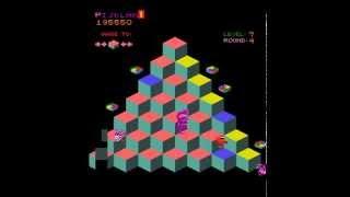 Arcade Game: Q*bert (1982 Gottlieb)