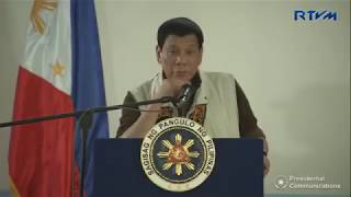 Full Speech of Pres. Duterte at Jolo, Sulu with Mr. Steven Seagal - December 1, 2017