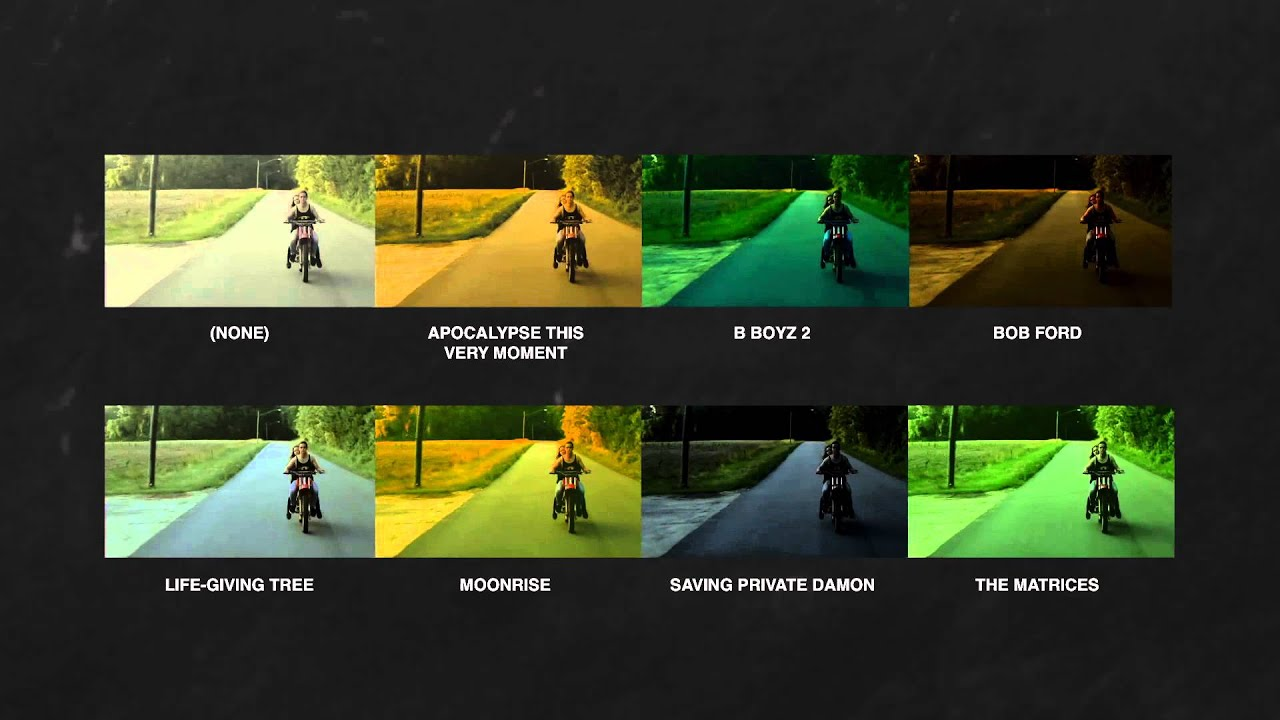 129 of the Best Free LUTs from Professional Colorists and Filmmakers