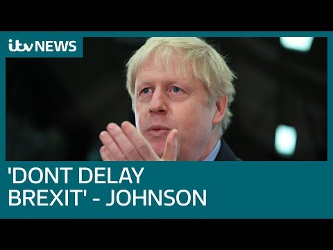 'it-would-be-utterly-pathetic':-boris-johnson-urges-pm-to-not-delay-brexit-|-itv-news