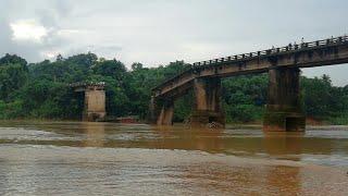 ಮಗುಚಿ ಬಿದ್ದ ಪಲ್ಗುಣಿ ಸೇತುವೆ , Palguni Bridge fallen down