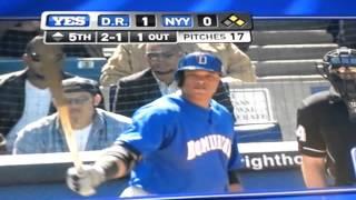 Robinson Cano vs Yankees de ny