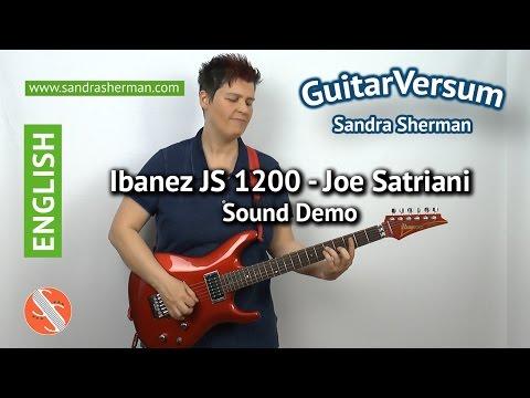 Ibanez JS 1200 Sound Demo - Ibanez JS1200 Review -Joe Satriani test